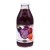 Aureli Organic Bottle Juice - Purple Carrot, Apple & Orange