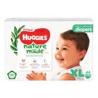 Huggies Platinum Diapers - XL (12 - 17kg)