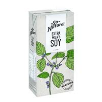 So Natural Soy Milk - Extra Milky