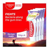 Colgate Total Pro Whitening Toothpaste 3X150G