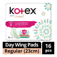 Kotex Soft Herbal Ultrathin Day Wing Pads - Regular(23cm)