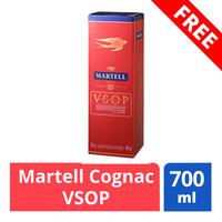 FREE Martell Cognac VSOP