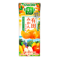 Kagome Packet Mixed Juice - Wakayama Mandarin