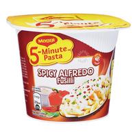 Maggi 5-Minute Instant Cup Pasta - Spicy Alfredo Fusilli