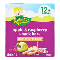 Rafferty's Garden Kids Fruit Snack Bar - Apple & Raspberry