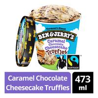 Ben & Jerry's Ice Cream - Caramel Chocolate Cheesecake Truffles