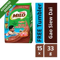 Milo Instant Chocolate Malt Drink - Gao Siew Dai + Tumbler