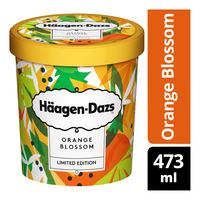 Haagen-Dazs Ice Cream - Orange Blossom