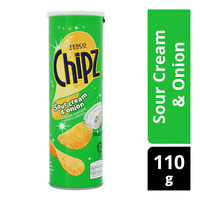 Tesco Chipz Potato Chips - Sour Cream & Onion