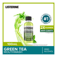 Listerine Zero Alcohol Mouthwash - Natural Green Tea