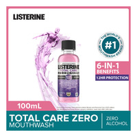 Listerine Travel Pack Mouthwash - Total Care Zero