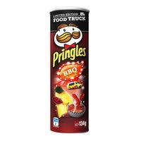 Pringles Potato Crisps - Sweet & Spicy BBQ