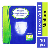 Tesco Unisex Adult Diapers - M