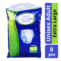 Tesco Unisex Adult Diapers - XL