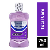 Tesco 6 in1 Mouthwash - Total Care
