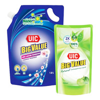 UIC Big Value Liquid Detergent Refill - Floral