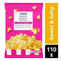 Tesco Popcorn - Sweet & Salty