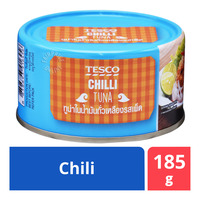 Tesco Tuna Flakes in Soybean Oil - Chili