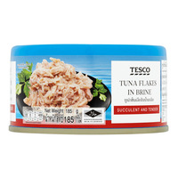 Tesco Tuna Flakes - Brine