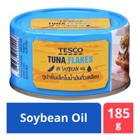 Tesco Tuna Flakes in Soybean Oil