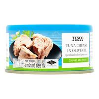 Tesco Tuna Chunks in Olive Oil