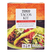 Tesco Tacos Kit