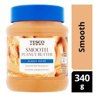 Tesco Peanut Butter - Smooth
