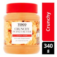 Tesco Peanut Butter - Crunchy