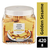 Tesco Cracker - Golden Sesame