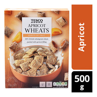Tesco Wholegrain Wheat Cereal Biscuits - Apricot