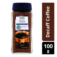 Tesco Gold Instant Decaff Coffee