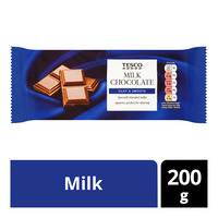 Tesco Chocolate Bar - Milk