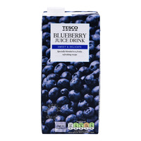 Tesco Juice Drink - Blueberry