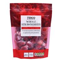 Tesco Frozen Whole Strawberries