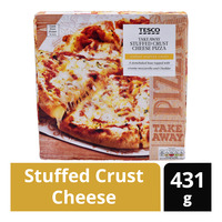 Tesco Takeaway Stuffed Crust Cheese Pizza