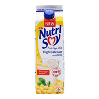 F&N NutriSoy High Calcium Fresh Soya Milk - No Sugar Added