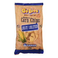GoNutz Wholegrain Corn Chips - Just Salted
