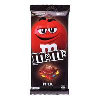 M&M's Block Chocolate Bar - Milk