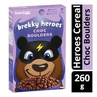 Freedom Foods Brekky Heroes Cereal - Choc Boulders
