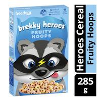 Freedom Foods Brekky Heroes Cereal - Fruity Hoops