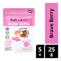Health Lab. Kids Bliss Bites Chewy Snacks - Brave Berry