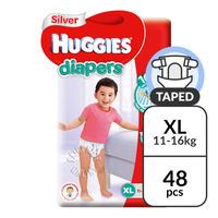 Huggies Silver Diapers - XL (11 - 16kg)