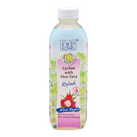 Allswell Less Sugar Bottled Drink - Lychee with Aloe Vera