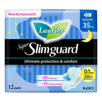 Laurier Super Slimguard Night Pads - Heavy (35cm)
