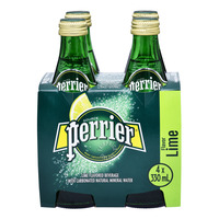 Perrier Sparkling Mineral Bottle Water - Lime