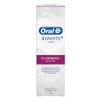 Oral-B 3D White Luxe Toothpaste - Glamorous White