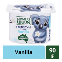 Farmers Union Greek Style Yoghurt - Vanilla