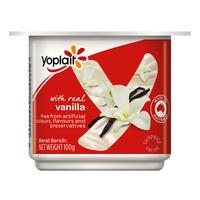 Yoplait Real Fruit Yoghurt - Vanilla
