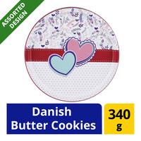 Riberhus Designer Tin Cookies - Danish Butter Cookies