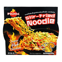 Picnic Stir-Fried Instant Noodle - Super Hot Chicken
